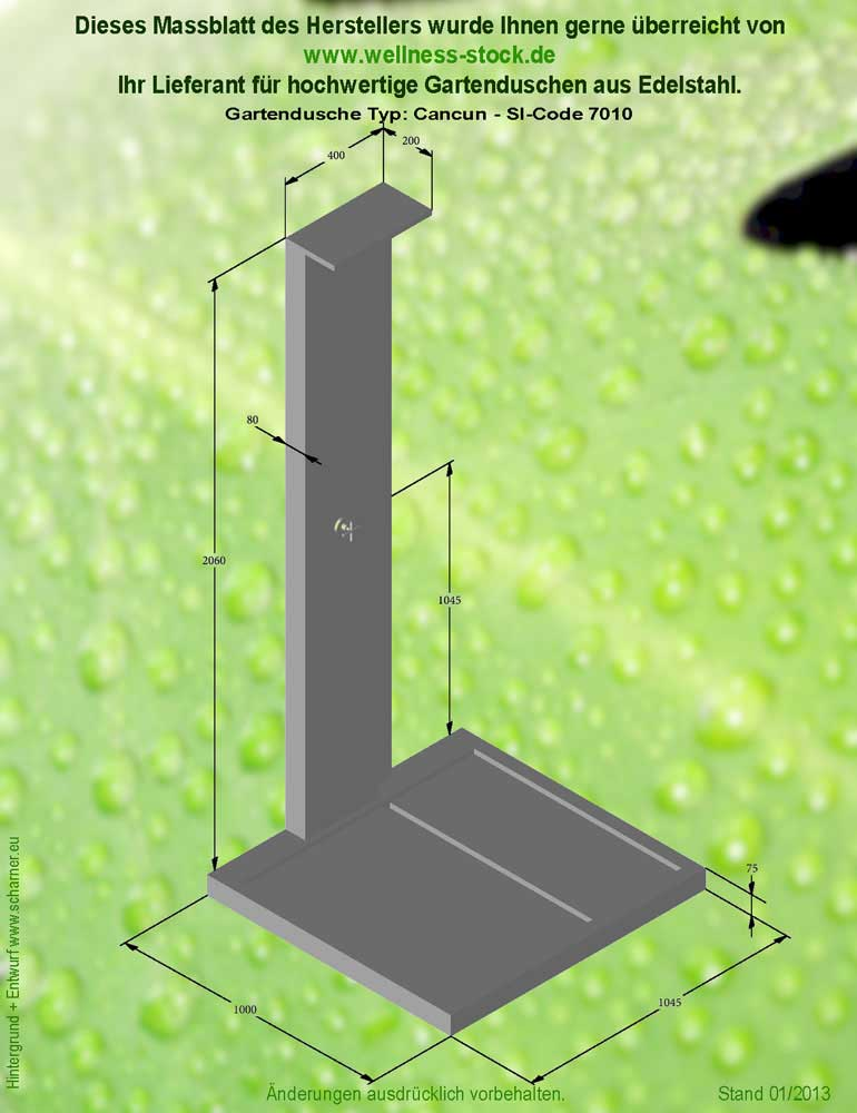 dusche wasserfall verschiedene design