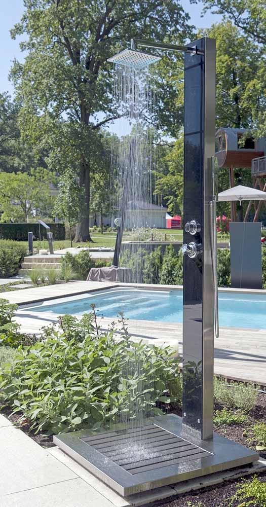 glasdusche kuba warmwasser erfrischt auch mit kaltem wasser. Black Bedroom Furniture Sets. Home Design Ideas