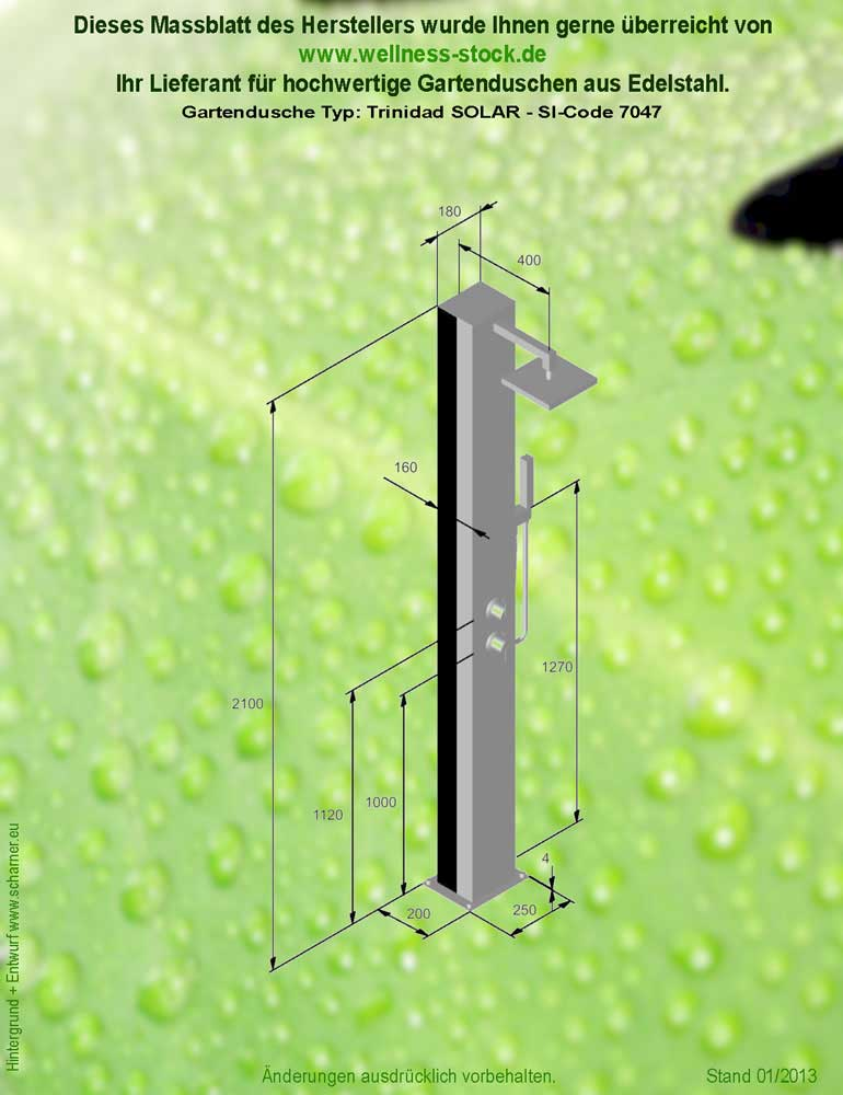 trinidad duschen im garten solar - Duschen Im Garten Mit Seife