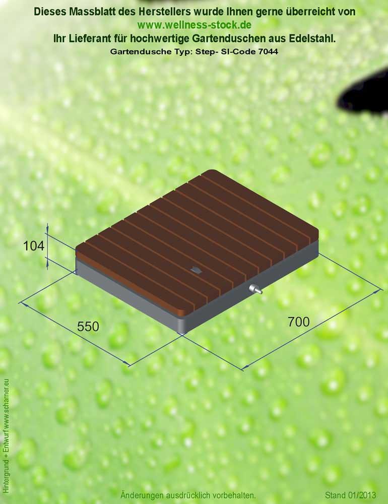 boden dusche step - Dusche Garten Ohne Wasseranschluss