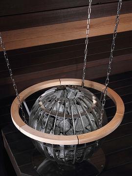 deckenaufh ngung saunaofen globe zum befestigen an der saunadecke. Black Bedroom Furniture Sets. Home Design Ideas