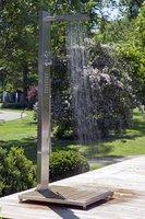 Gartendusche kaltwasser optional lieferung warmwasser for Gartendusche mit warmwasser