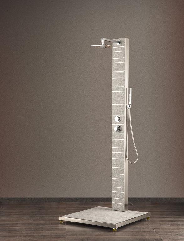 gartendusche argon warmwasser erfrischt auch mit kaltem wasser. Black Bedroom Furniture Sets. Home Design Ideas