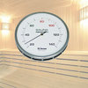 Sauna Thermometer Edelstahl