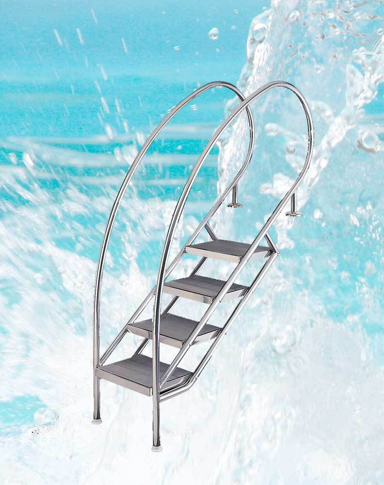 Treppe Miami SWING Schwimmbad