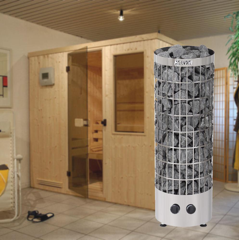 saunaofen cilindro mit steuerung ohne mit ca 80 kg saunasteinen. Black Bedroom Furniture Sets. Home Design Ideas
